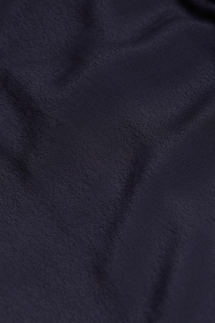 Halenkové šaty z LENZING™ ECOVERO™, NAVY, detail image number 4