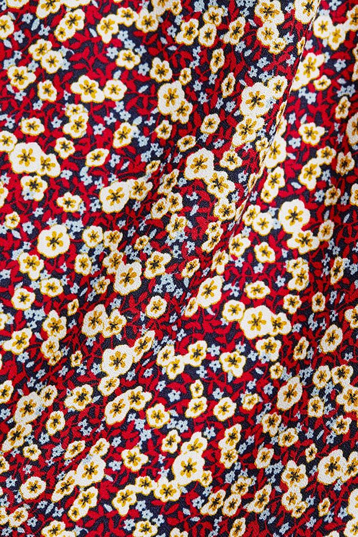 Midi-Kleid aus LENZING™ ECOVERO™, NAVY, detail image number 4