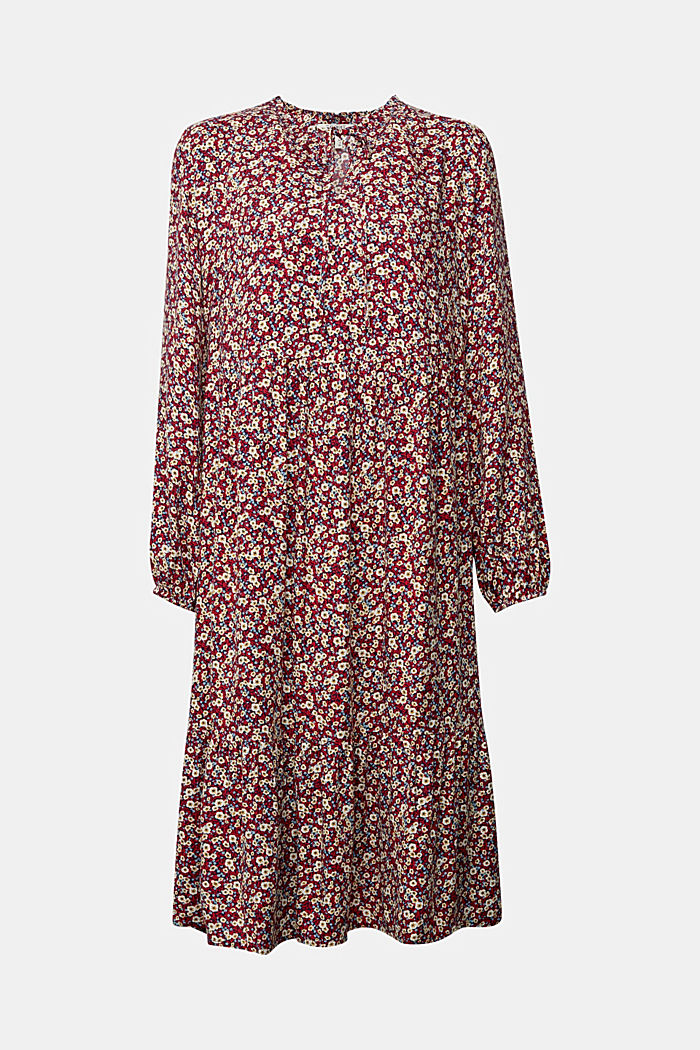 Midi-jurk van LENZING™ ECOVERO™