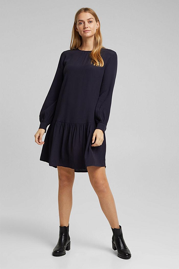 LENZING™ ECOVERO™ dress, NAVY, detail image number 0
