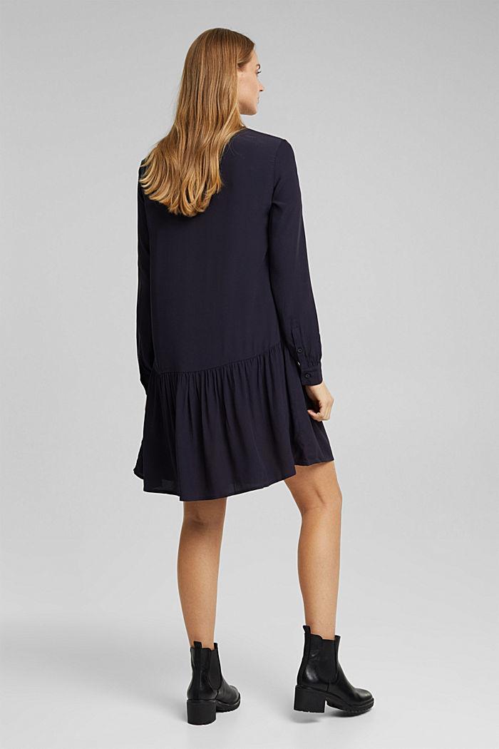 LENZING™ ECOVERO™ dress, NAVY, detail image number 2