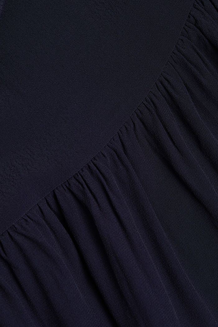 LENZING™ ECOVERO™ dress, NAVY, detail image number 4
