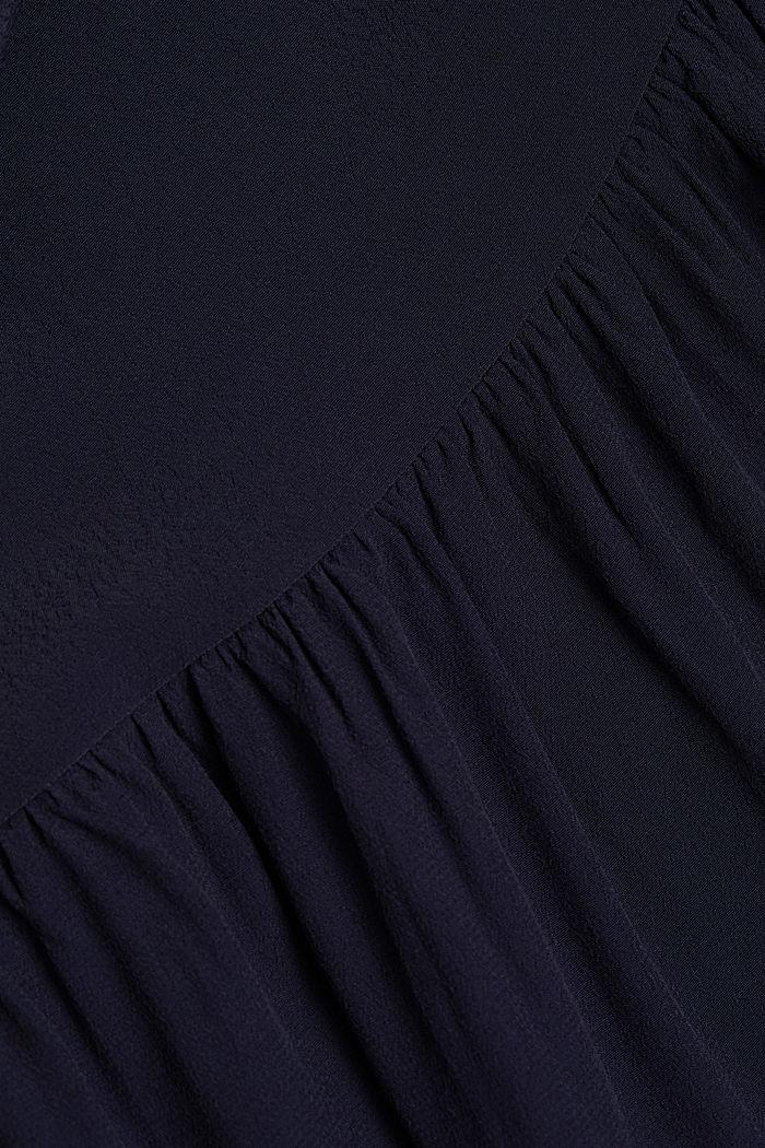 LENZING™ ECOVERO™ dress, NAVY, detail image number 4