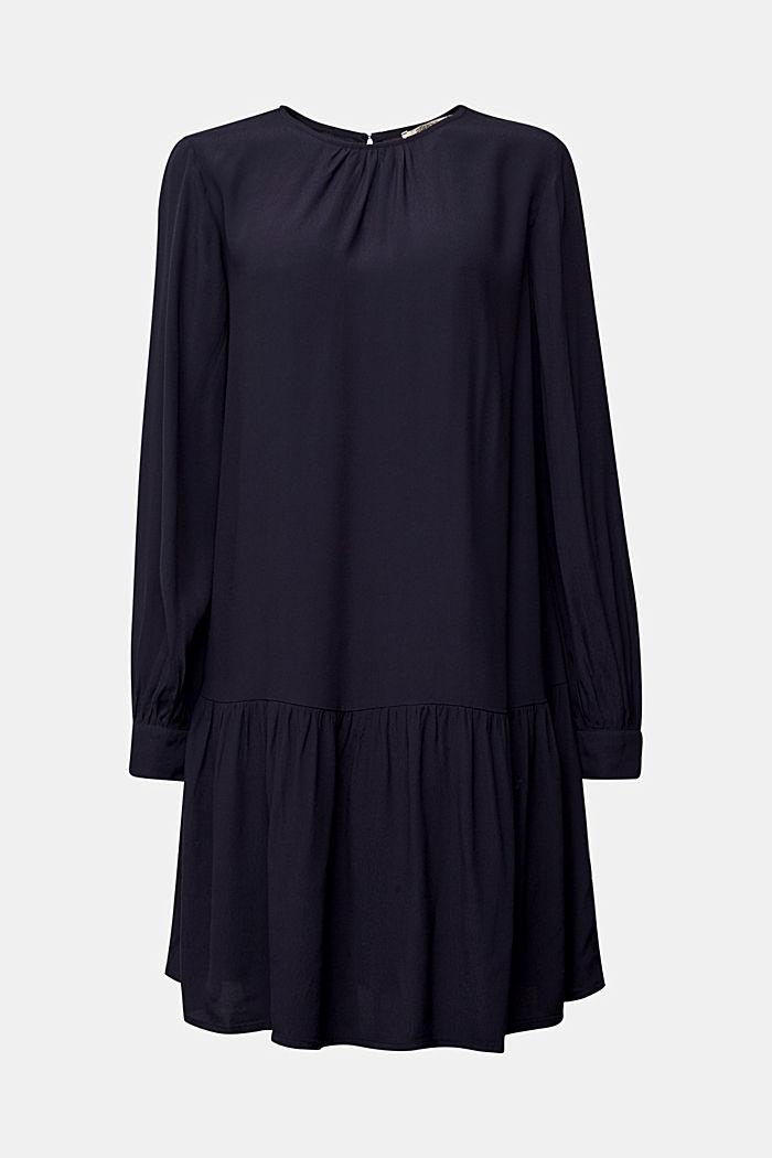 LENZING™ ECOVERO™ dress, NAVY, detail image number 7