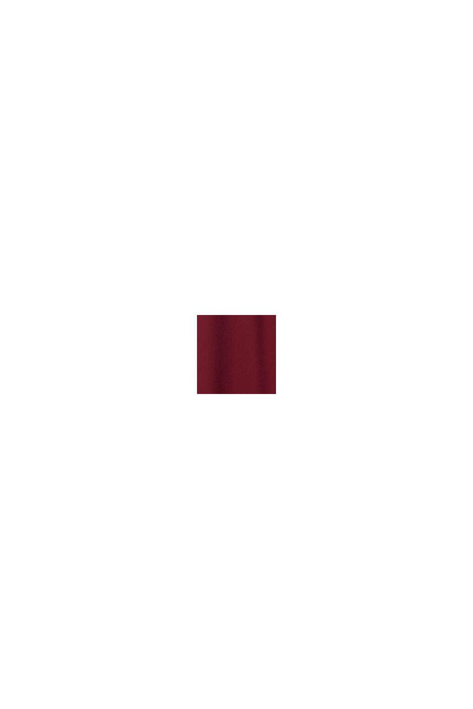 Kleid aus LENZING™ ECOVERO™, BORDEAUX RED, swatch