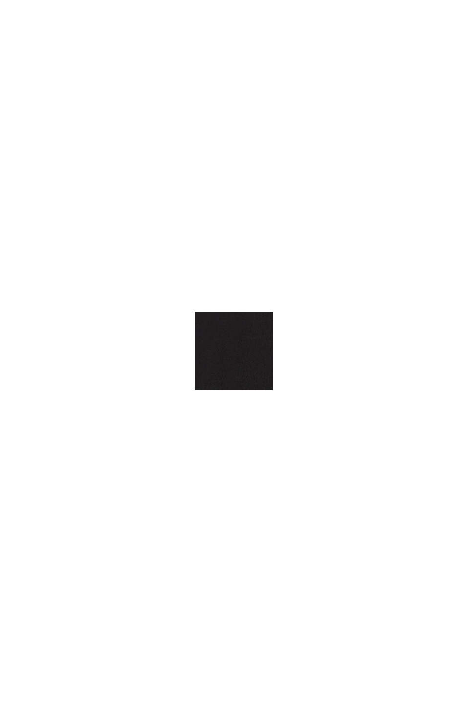 Blusa de LENZING™ ECOVERO™, BLACK, swatch
