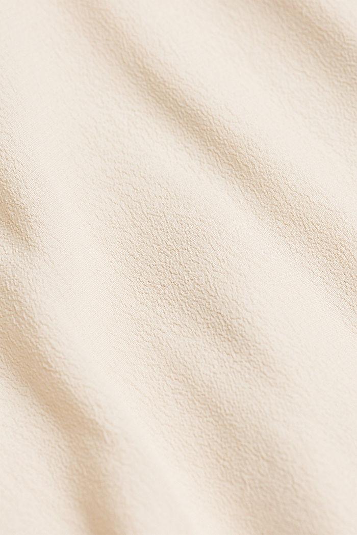 Blouse van LENZING™ ECOVERO™, CREAM BEIGE, detail image number 4