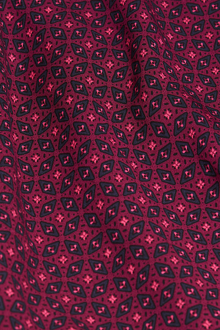 Blouse made of 100% LENZING™ ECOVERO™, RED, detail image number 4