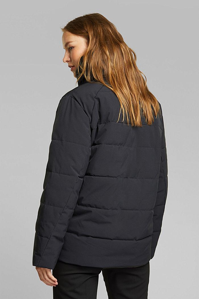 Recycled: padded reversible jacket, BLACK, detail image number 3