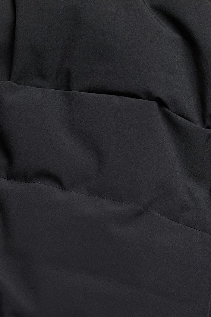 Recycled: padded reversible jacket, BLACK, detail image number 4