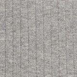 Silk blend: turtleneck top in organic cotton, MEDIUM GREY, swatch