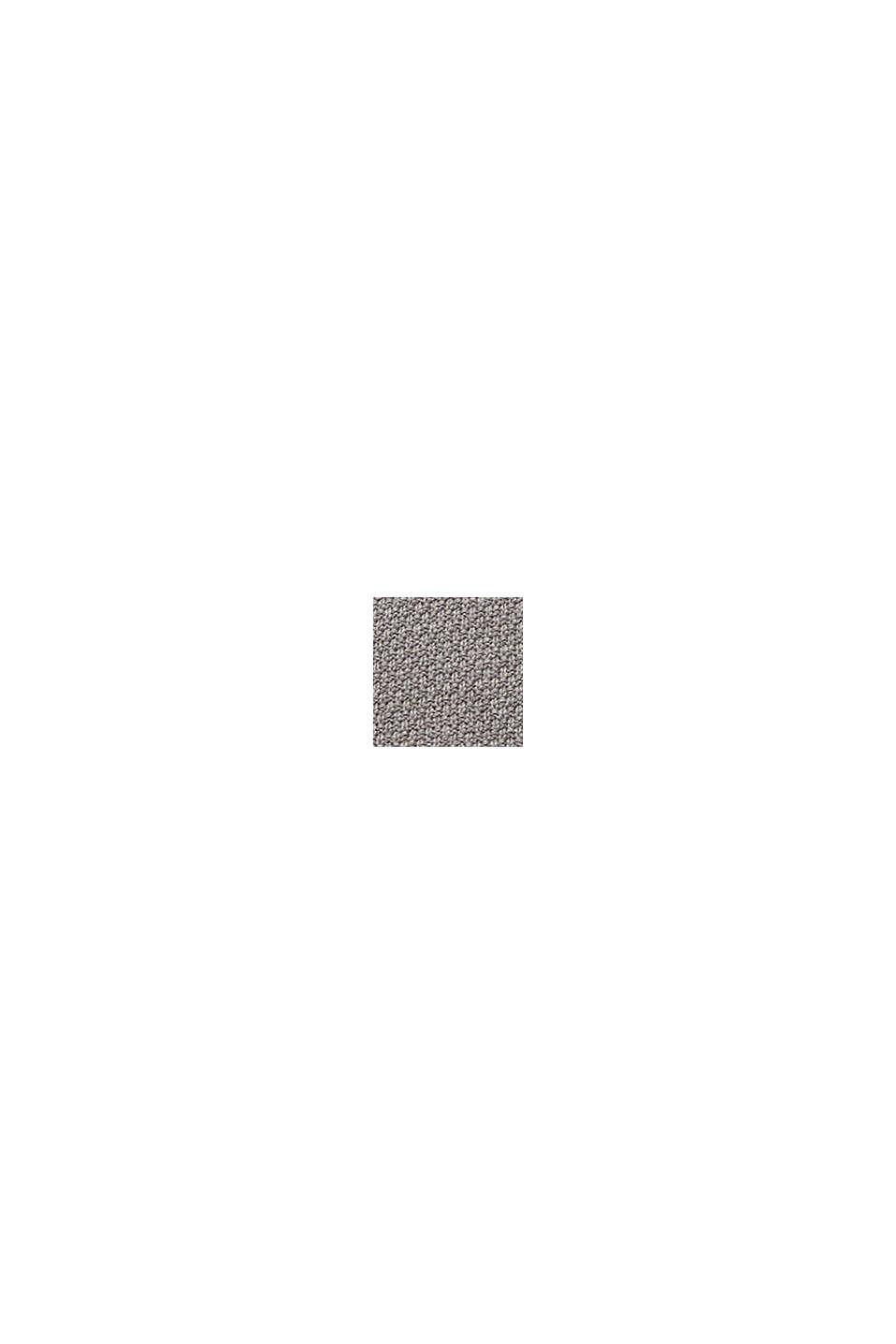 Pullover aus 100% Organic Cotton, MEDIUM GREY, swatch