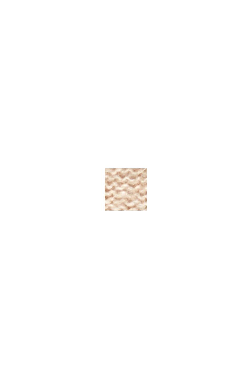 Struktur-Pullover mit Alpaka, BEIGE, swatch