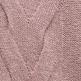 Textured jumper containing alpaca, MAUVE, swatch