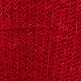 With alpaca: rib knit jumper, RED, swatch