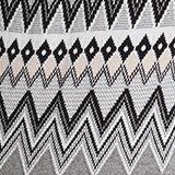 Fair Isle jumper, 100% organic cotton, DARK GREY, swatch