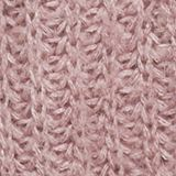 Alpaca blend: cardigan with a knit pattern, MAUVE, swatch