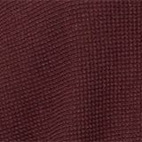 Cashmere blend: cardigan made of organic cotton, BORDEAUX RED, swatch