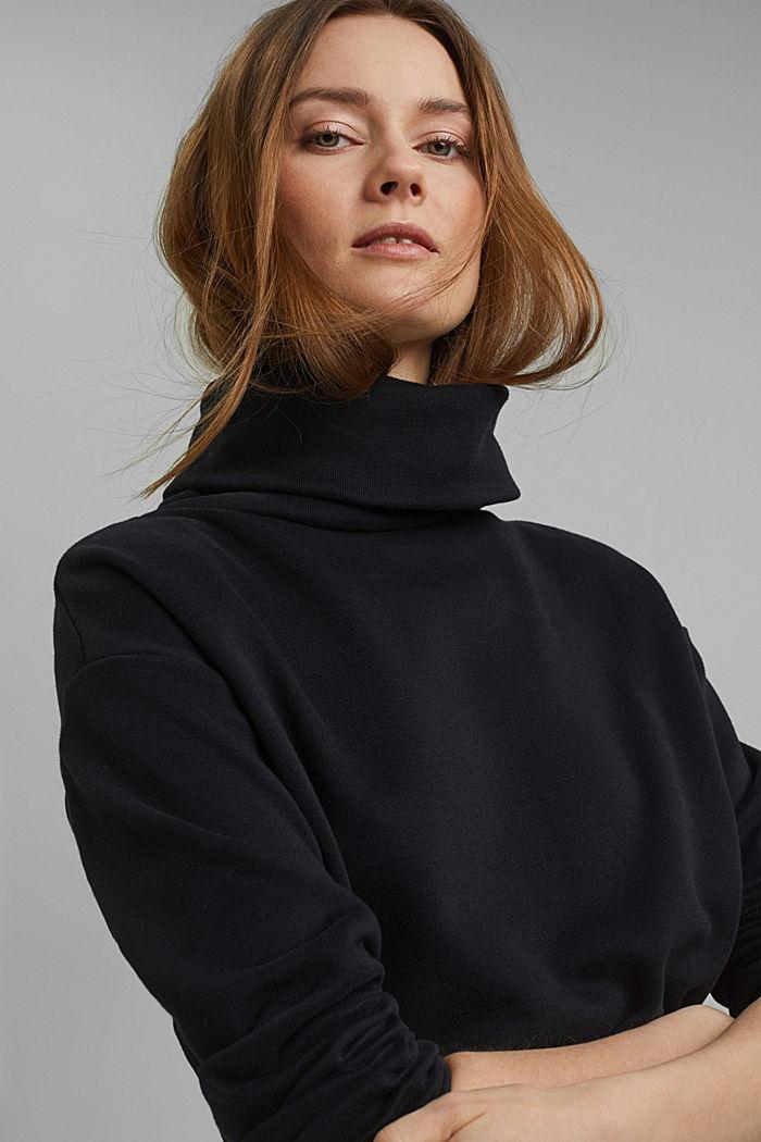 Recycelt: Sweatshirt mit Bio-Baumwolle