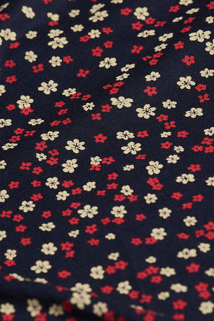 Jersey blouse made of LENZING™ ECOVERO™, NEW NAVY, detail image number 4
