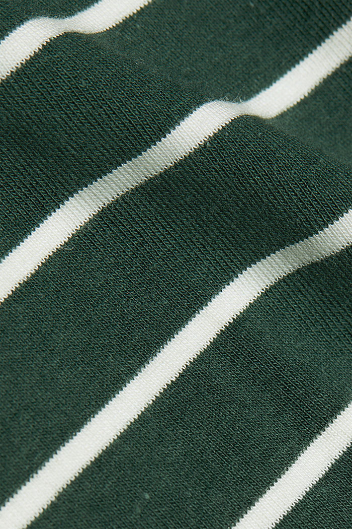Long sleeve top with organic cotton, DARK GREEN, detail image number 4