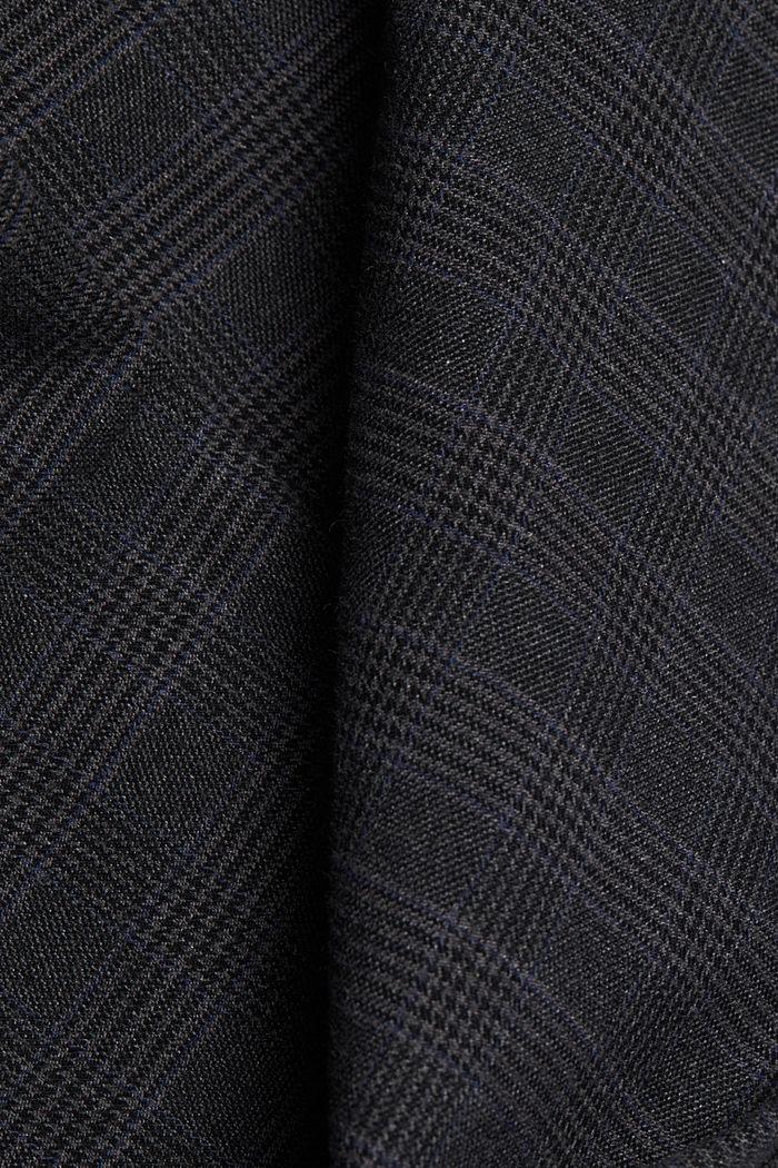 Chinos made of organic cotton, DARK GREY, detail image number 4
