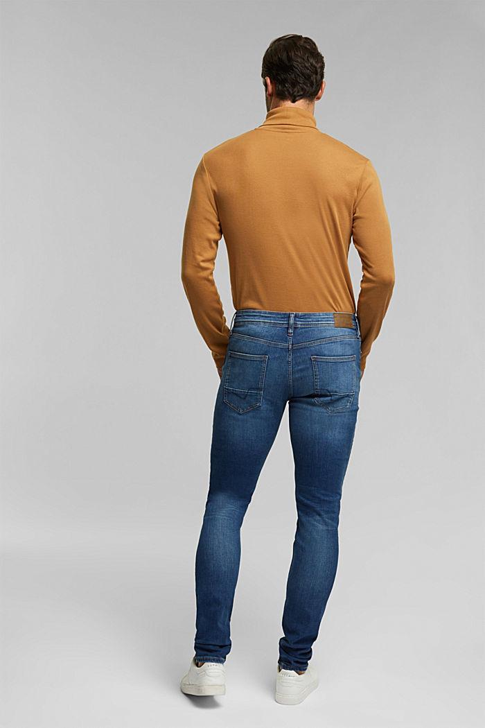 Pants denim, BLUE DARK WASHED, detail image number 1