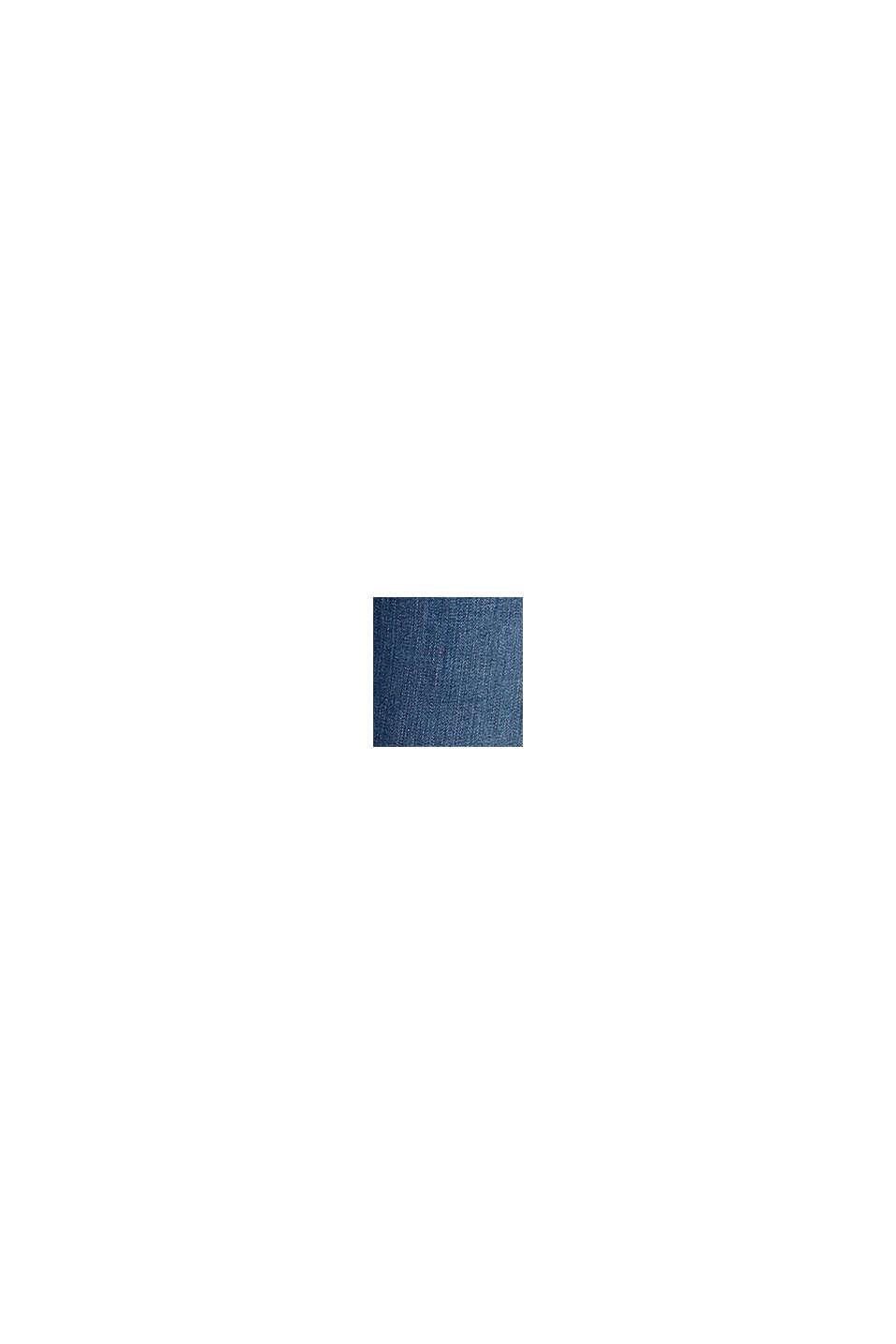 Dynamisch denim met THERMOLITE®, BLUE DARK WASHED, swatch