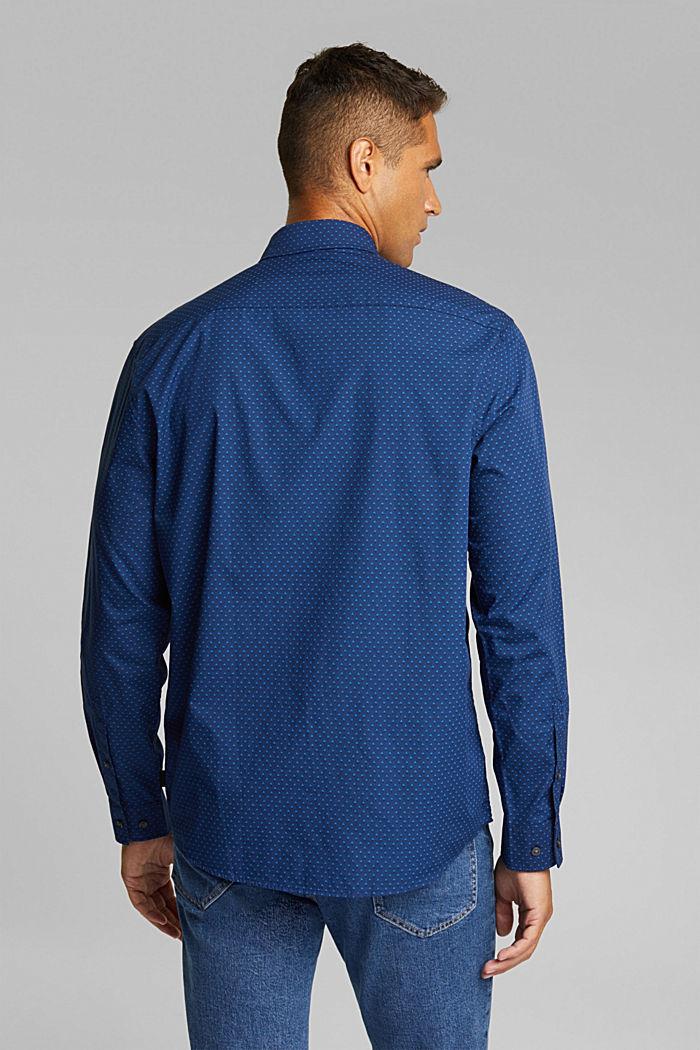 Print-Hemd aus 100% Organic Cotton, INK, detail image number 3