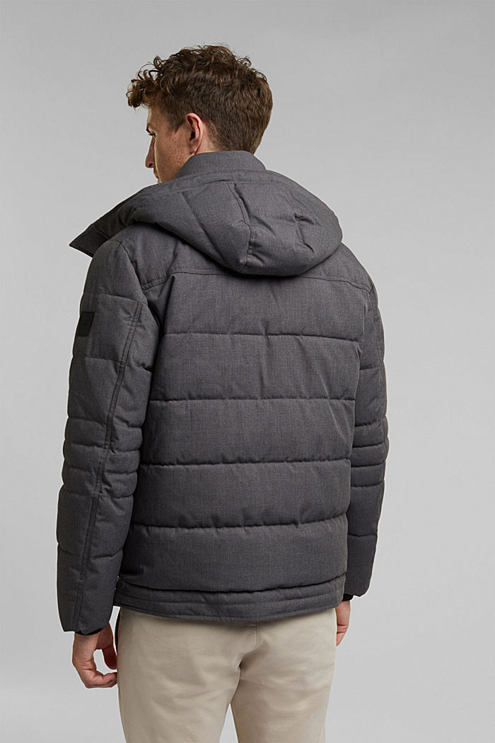 Quilted jacket with 3M™ Thinsulate™ filling, ANTHRACITE, detail image number 3