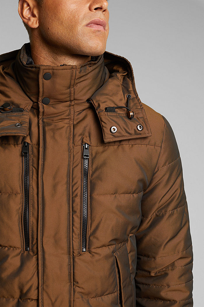Jacket with 3M™ Thinsulate™ filling, TOFFEE, detail image number 2
