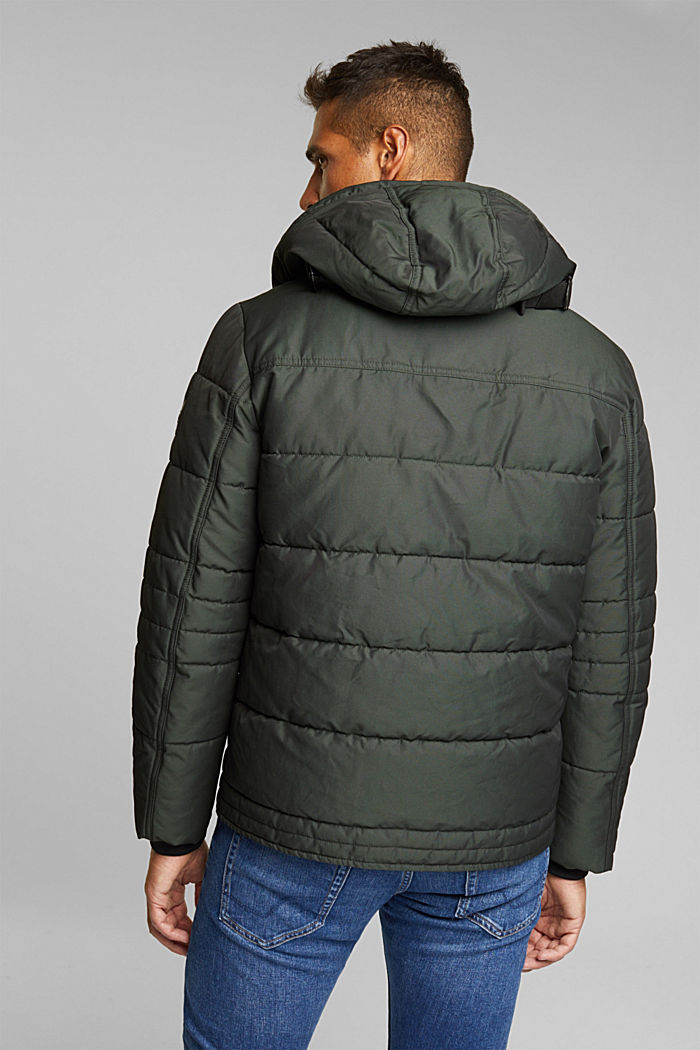 Jacket with 3M™ Thinsulate™ filling, DARK GREEN, detail image number 3