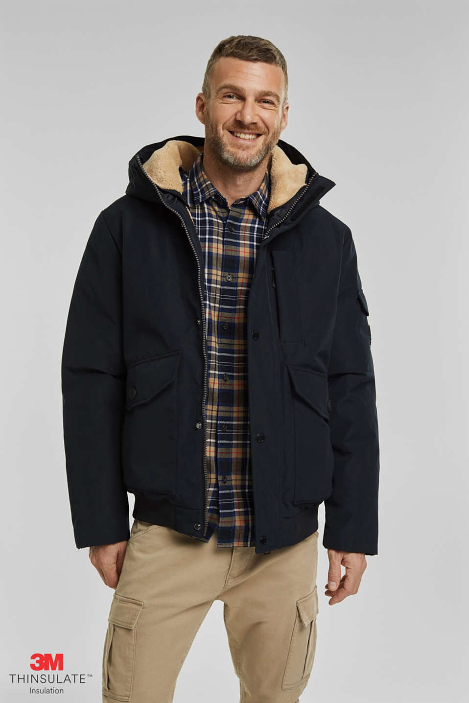 Esprit - Recycled: Polar parka with 3M™ Thinsulate™ filling
