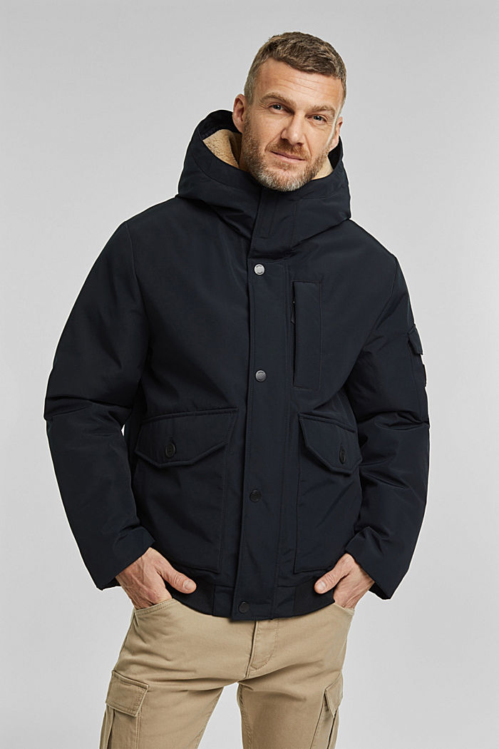 Recycelt: Polar-Parka, 3M™ Thinsulate™-Füllung, BLACK, detail image number 4