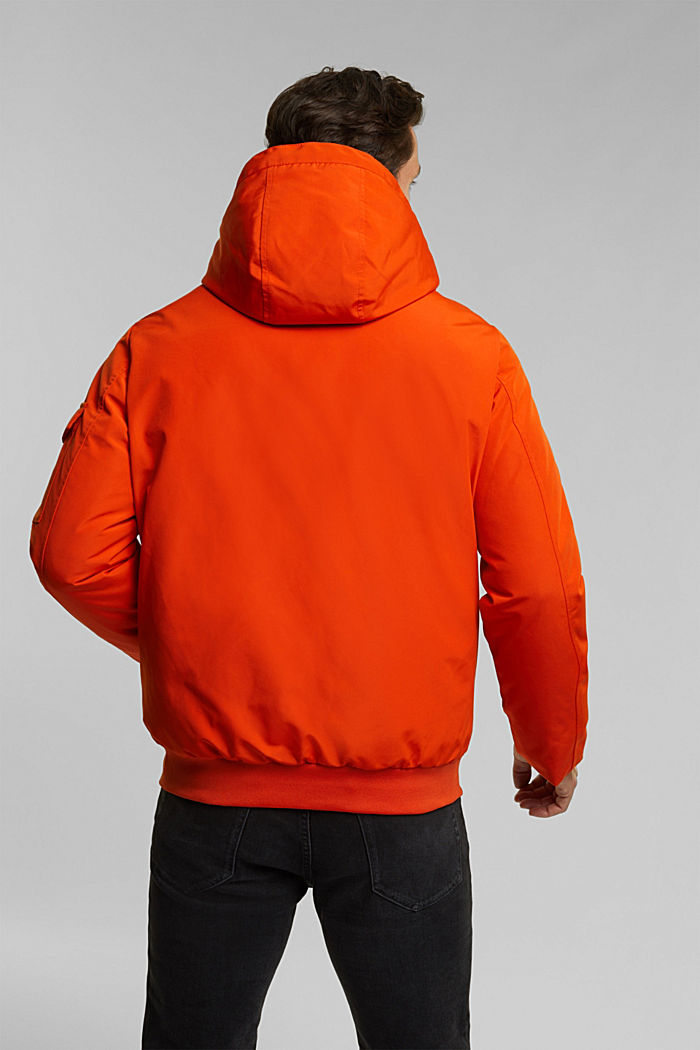 Recycled: Polar parka with 3M™ Thinsulate™ filling, BURNT ORANGE, detail image number 3