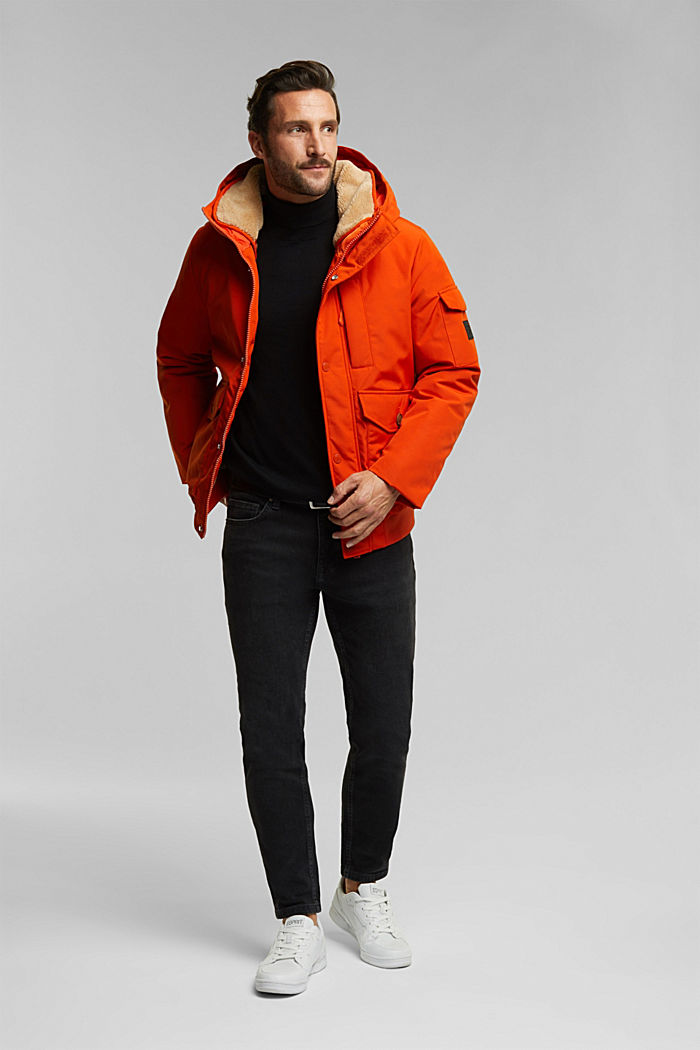 Recycled: Polar parka with 3M™ Thinsulate™ filling, BURNT ORANGE, detail image number 1