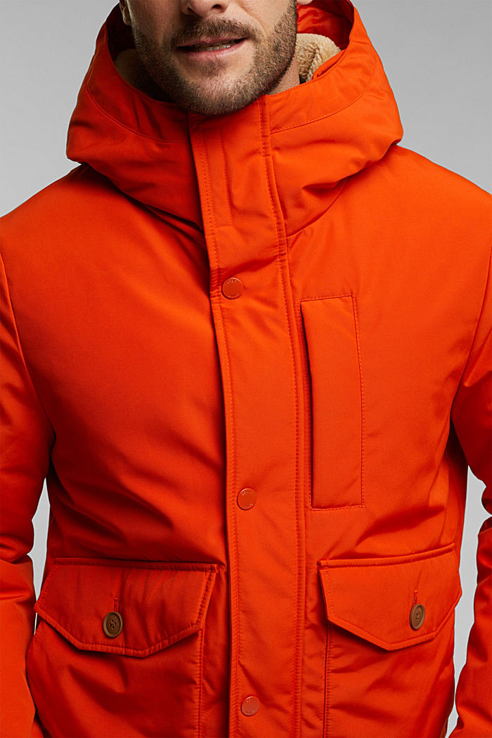 Recycled: Polar parka with 3M™ Thinsulate™ filling, BURNT ORANGE, detail image number 2