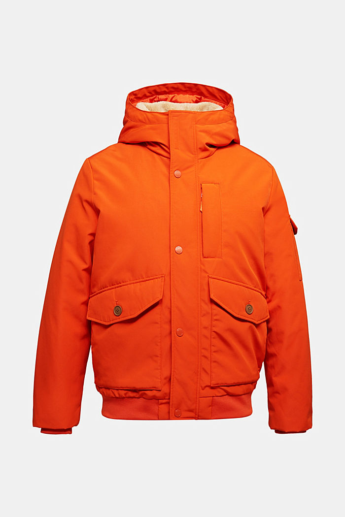 Recycled: Polar parka with 3M™ Thinsulate™ filling, BURNT ORANGE, detail image number 5