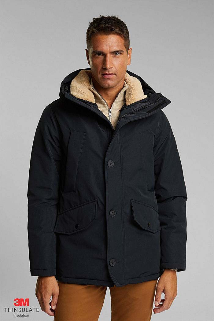Recycled: Polar parka with 3M™ Thinsulate™ filling