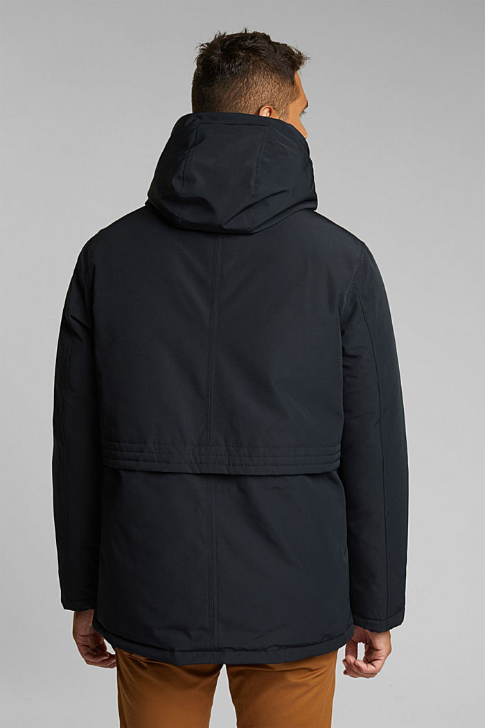 Recycled: Polar parka with 3M™ Thinsulate™ filling, BLACK, detail image number 3