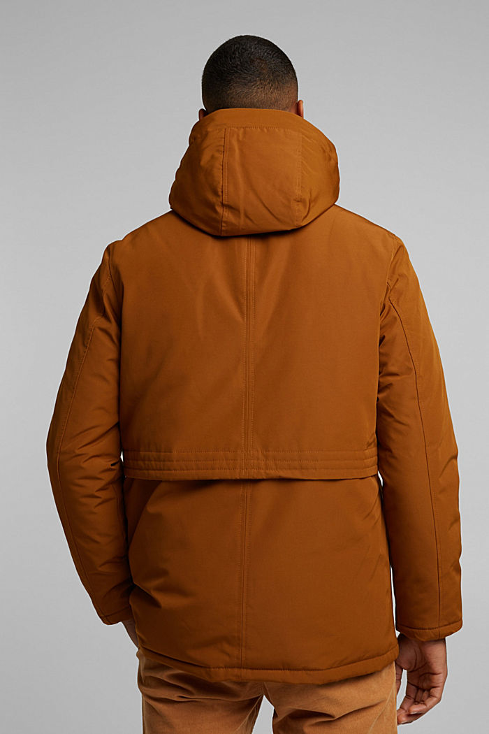 Recycled: Polar parka with 3M™ Thinsulate™ filling, TOFFEE, detail image number 3