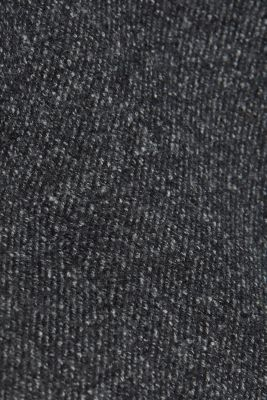 Coats knitted, ANTHRACITE, detail