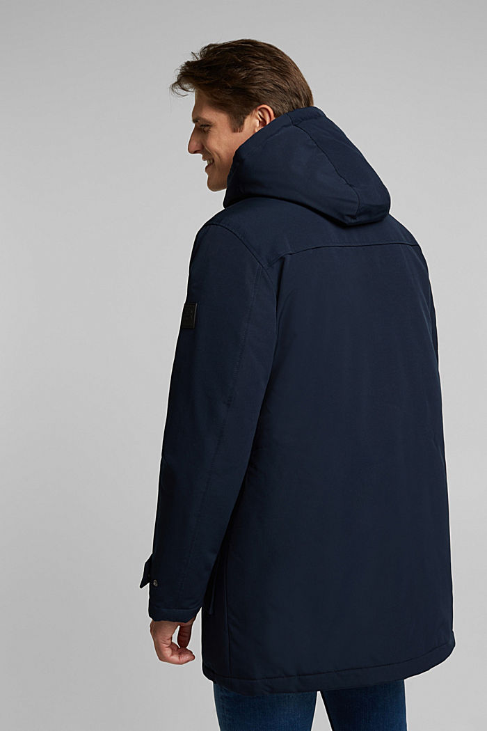 Recycled: duffle-inspired jacket with 3M™ Thinsulate™, DARK BLUE, detail image number 3