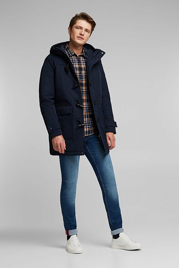 Recycelt: Jacke im Duffle-Stil, 3M™ Thinsulate™, DARK BLUE, detail image number 1