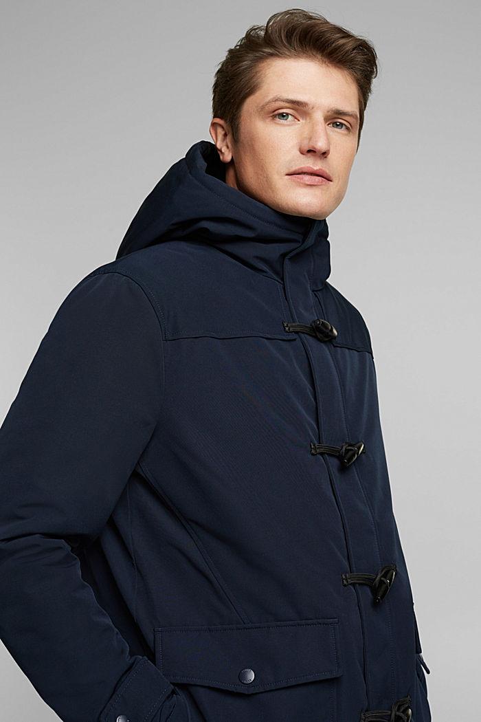 Recycelt: Jacke im Duffle-Stil, 3M™ Thinsulate™, DARK BLUE, detail image number 6