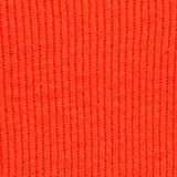 With cashmere: Rib knit jumper, BURNT ORANGE, swatch