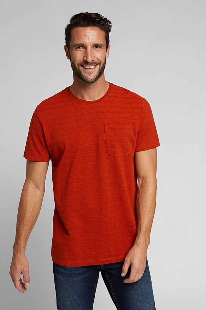 Haut en jersey texturé, en coton bio