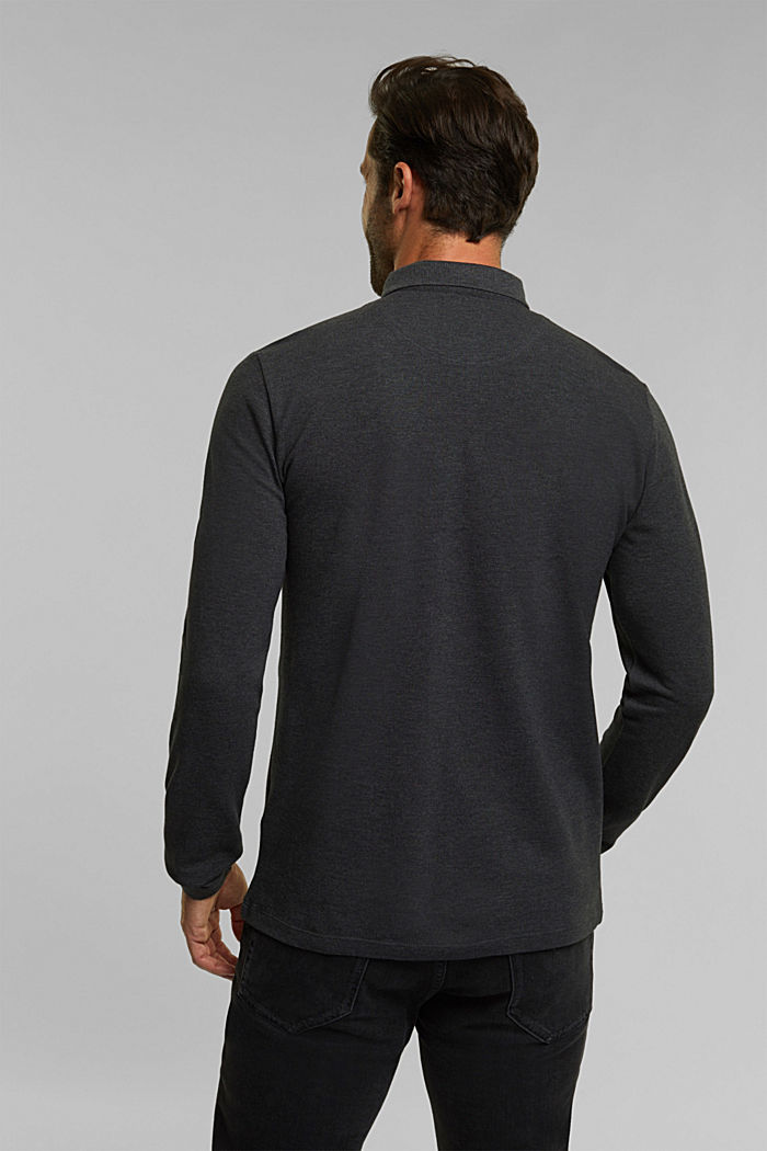 Polo shirts, ANTHRACITE, detail image number 3