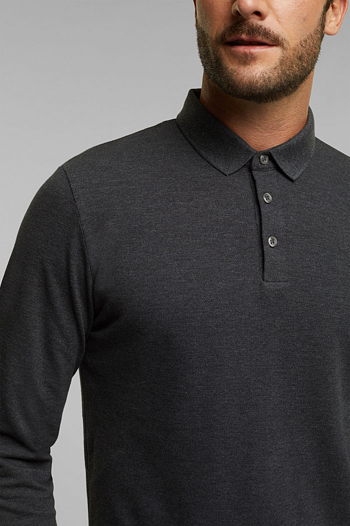 Polo shirts, ANTHRACITE, detail image number 1