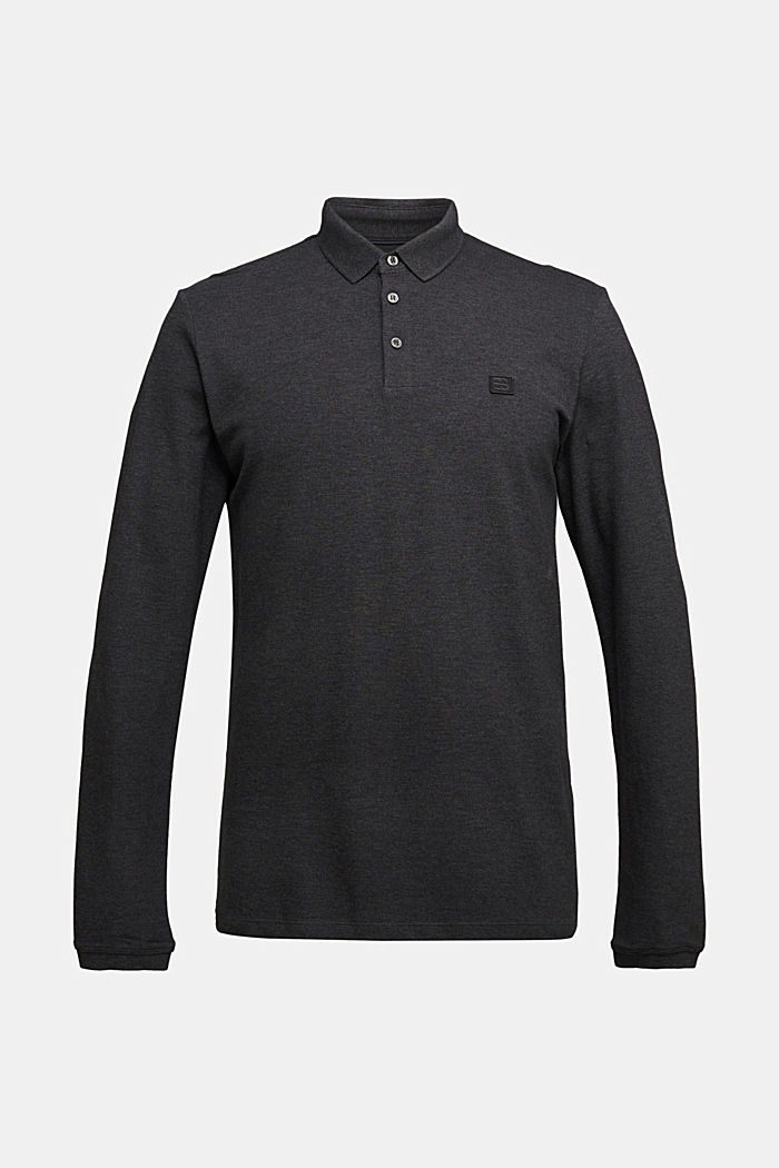Polo shirts, ANTHRACITE, detail image number 6